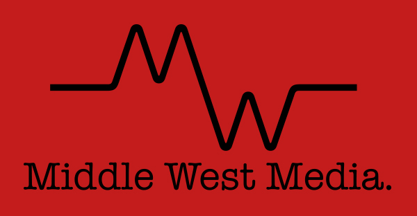 Middle West Media Logo - Red